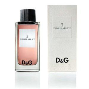 3 L imperatrice Dolce and Gabbana
